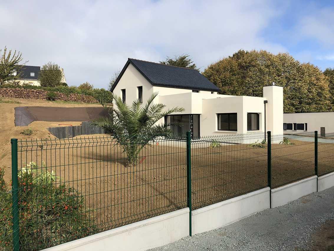 Construction d''une Habitation Contemporaine à Pléneuf-Val-André 0