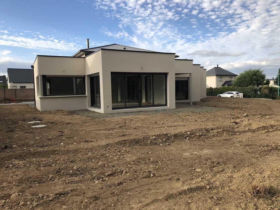 Construction d''une maison individuelle à Pléneuf Val André 22 img7560