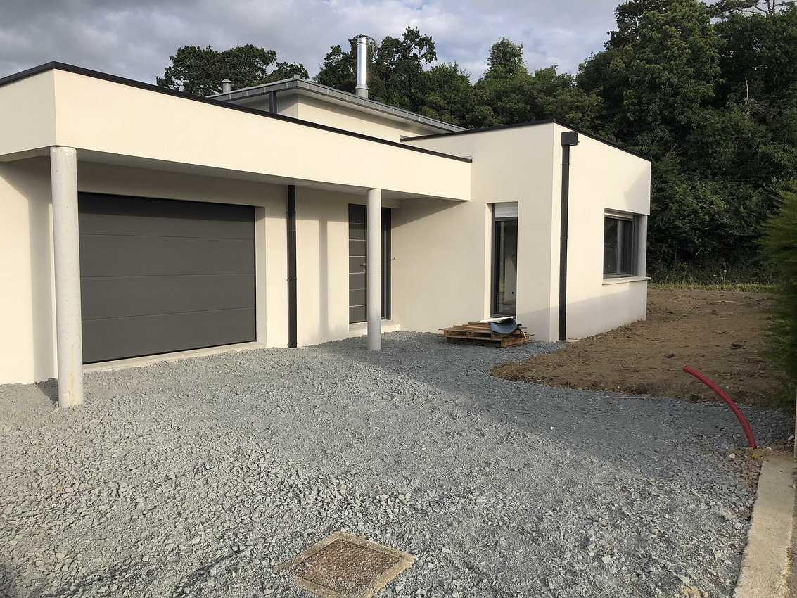 Construction d''une maison individuelle à Pléneuf Val André 22 img7563