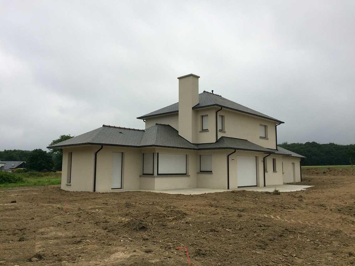 Construction d''une Habitation traditionnelle à Plédéliac - Lamballe (22) img0373
