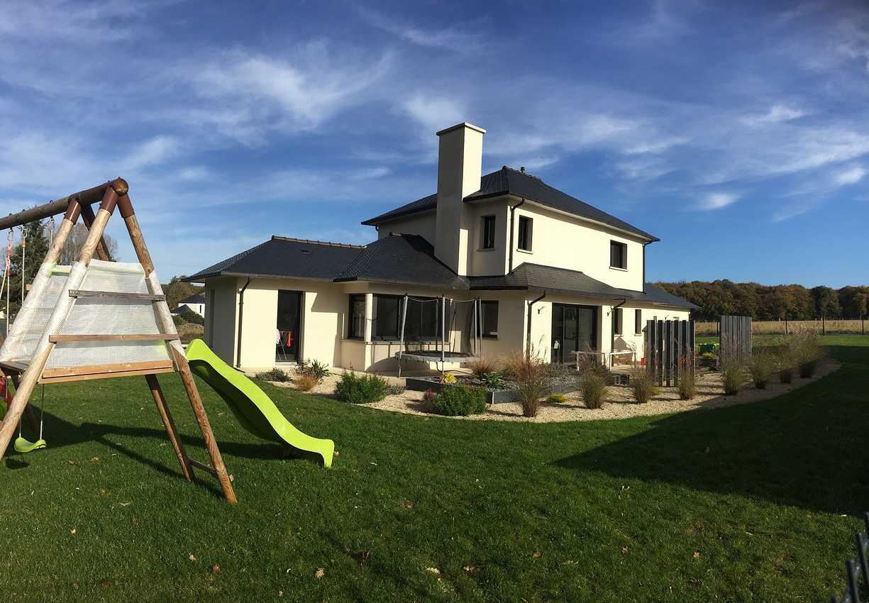 Construction d''une Habitation traditionnelle à Plédéliac - Lamballe (22) 0