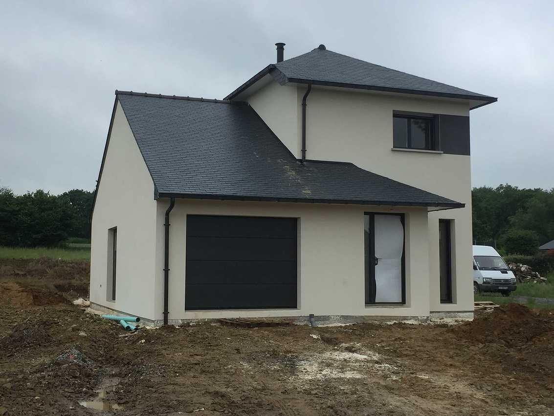 Construction d''une Habitation traditionnelle à Plédran - secteur St Brieuc (22) img4366
