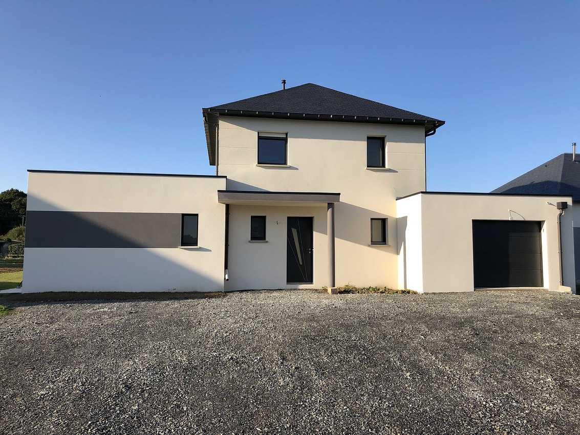 Construction d''une Habitation traditionnelle à St Alban - secteur Lamballe (22) 1