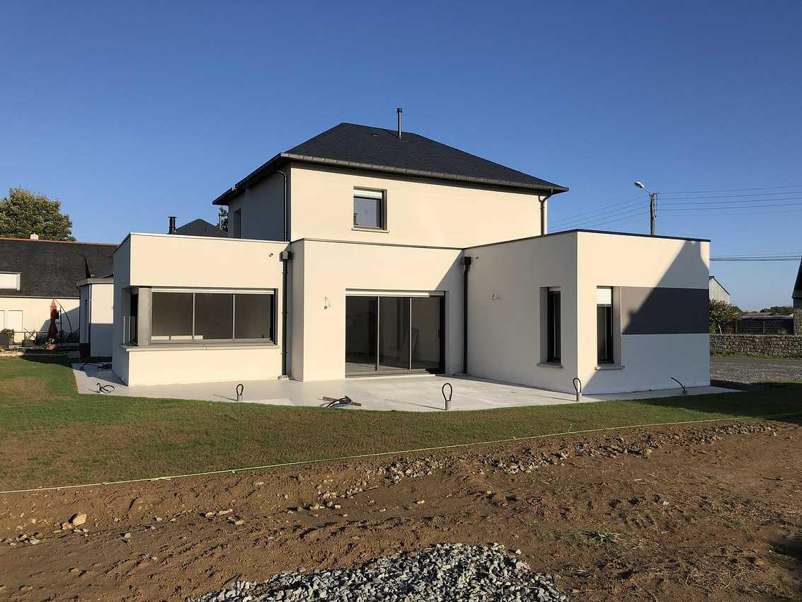 Construction d''une Habitation traditionnelle à St Alban - secteur Lamballe (22) 3