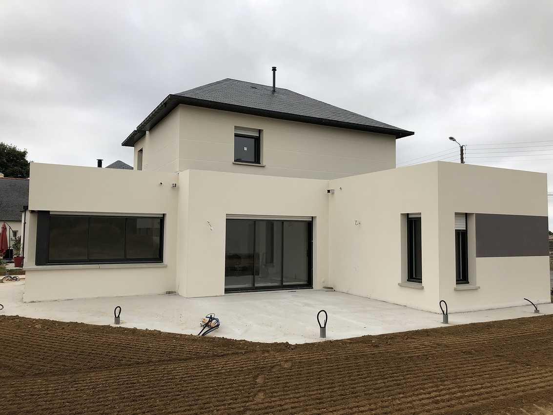 Construction d''une Habitation traditionnelle à St Alban - secteur Lamballe (22) 0