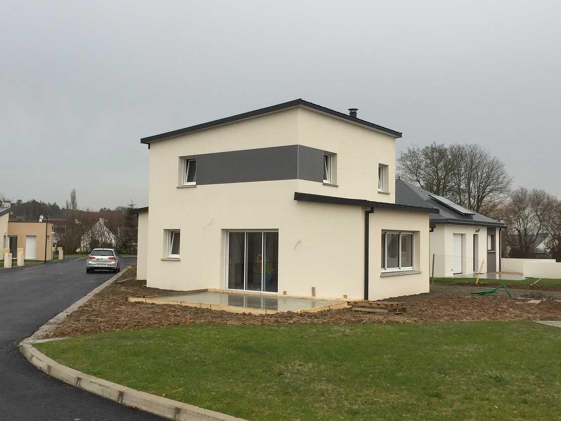 Construction d''une Habitation contemporaine à Plédran (22 ) -Agglomération de St Brieuc- 0