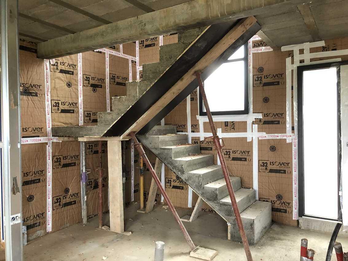 Construction d''une Habitation contemporaine à Plérin 22 190 Bretagne img0697