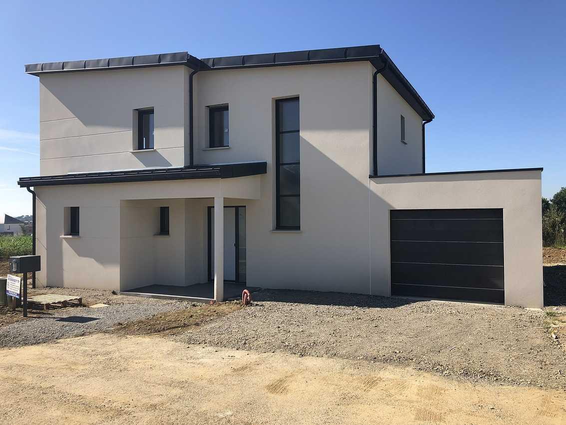 Construction d''une Habitation contemporaine à Plérin 22 190 Bretagne 0