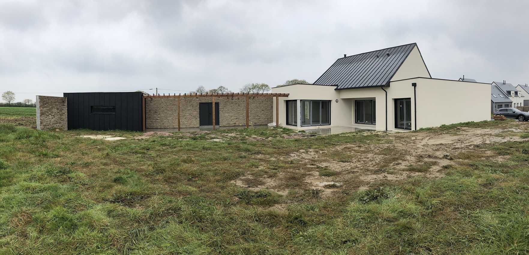 Construction d''une Habitation originale à Planguenoual 22400 0
