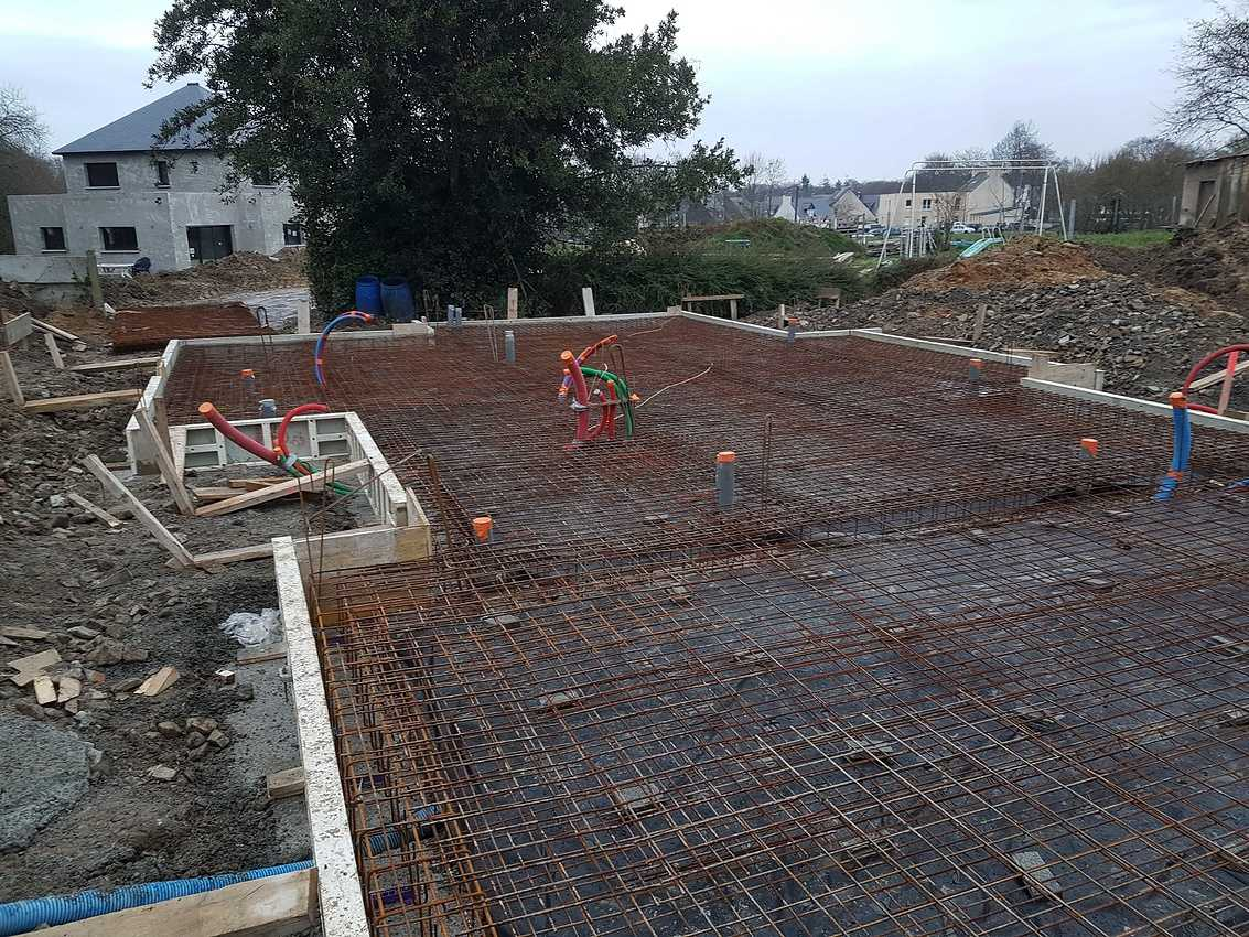 Construction d''une Habitation traditionnelle à Saint Julien 22940 - Côtes d''armor (22) 20181213163622