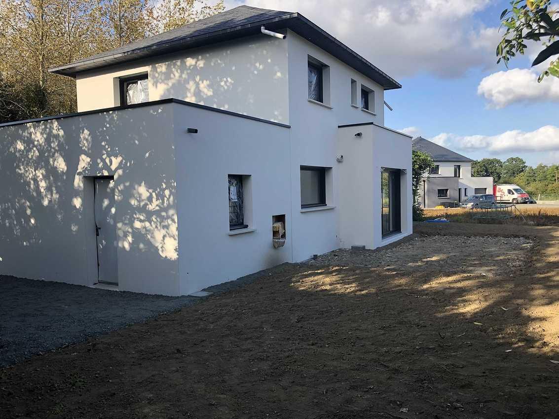 Construction d''une Habitation traditionnelle à Saint Julien 22940 - Côtes d''armor (22) img3016