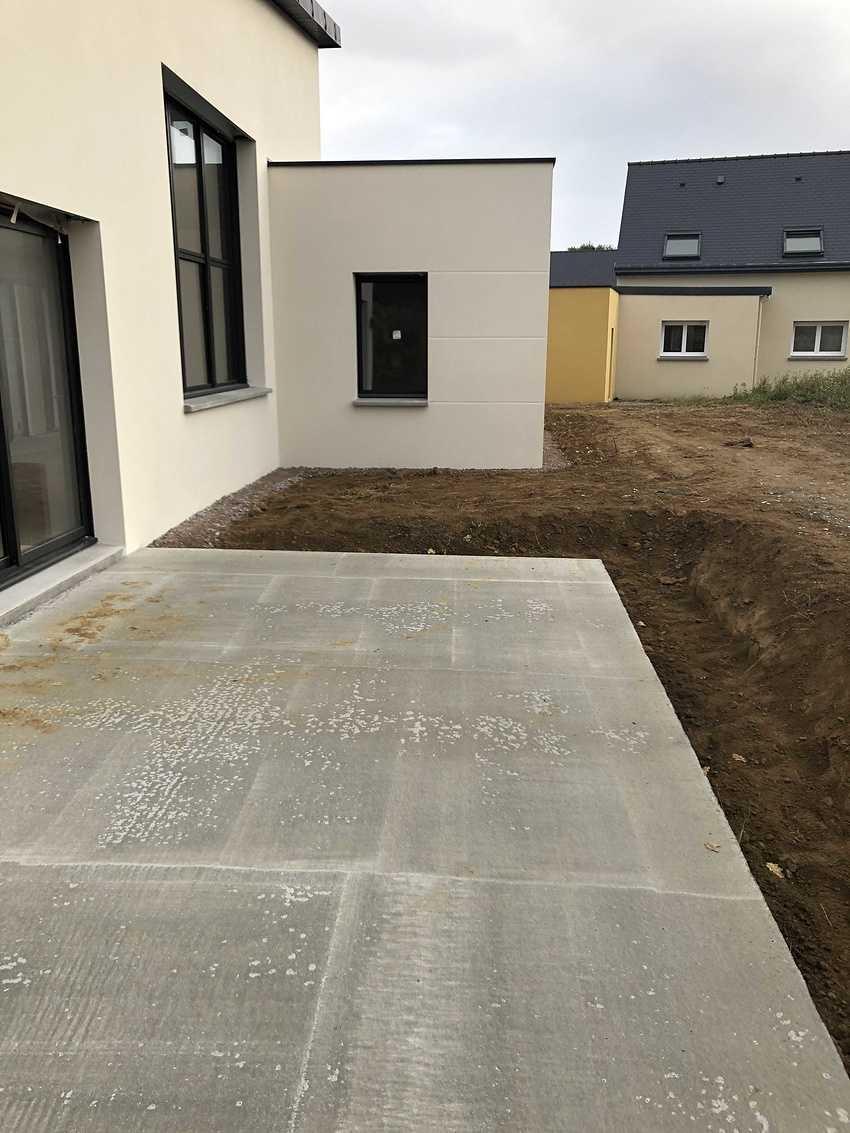 Construction d''une Habitation contemporaine à Plurien 22240 Bretagne img0032
