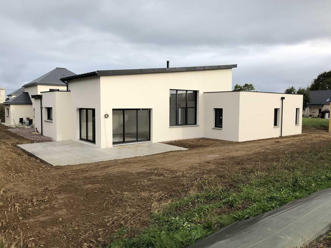 Construction d''une Habitation contemporaine à Plurien 22240 Bretagne 0
