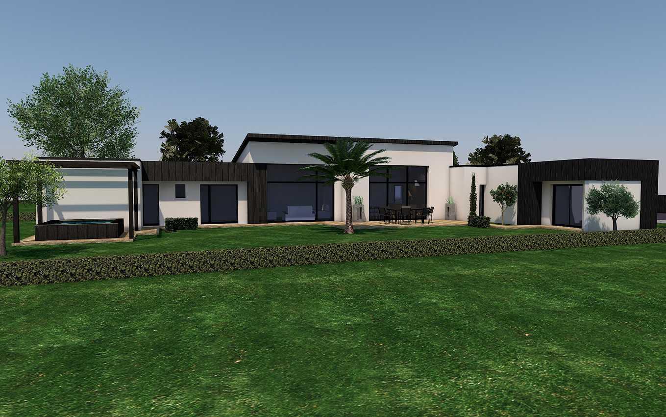 Projet maison contemporaine avec piscine - Erquy 0