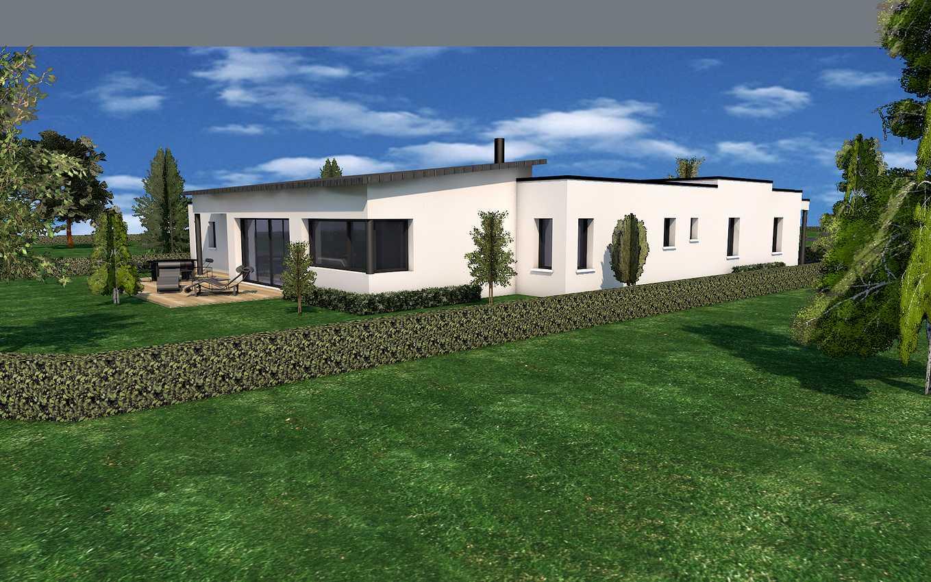 Projet de construction de maison plain pied- Plérin 0
