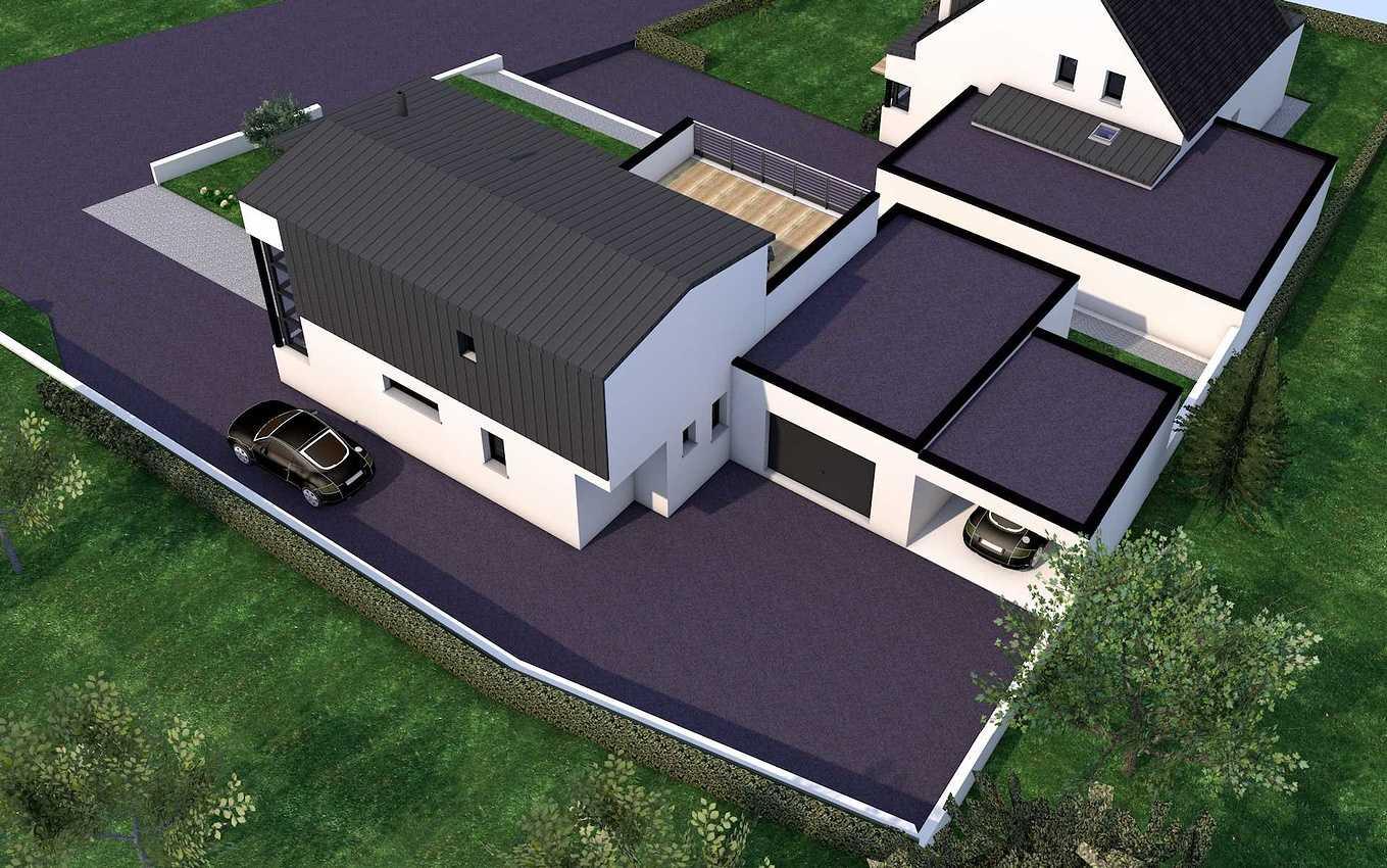 Avant-projet d''une maison contemporaine - Pléneuf-Val-André. presentation32