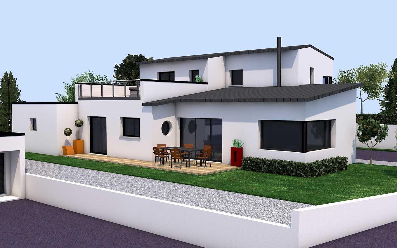 Avant-projet d''une maison contemporaine - Pléneuf-Val-André. 0