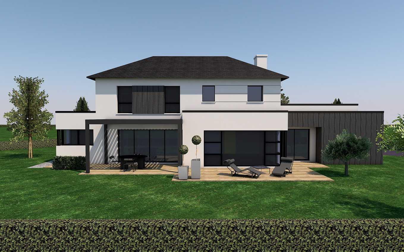 Avant projet d''une maison neuve - St-Trimoël 0
