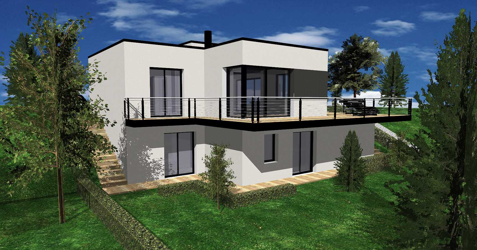 Projet de construction d''une maison neuve - Pléneuf-Val-André 0