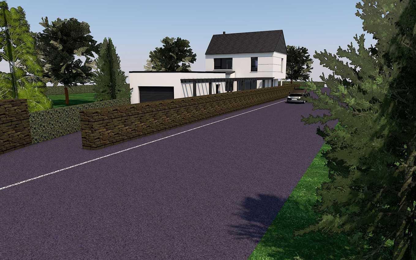 Projet de construction maison 2 niveaux - Pléneuf-Val-André presentation42