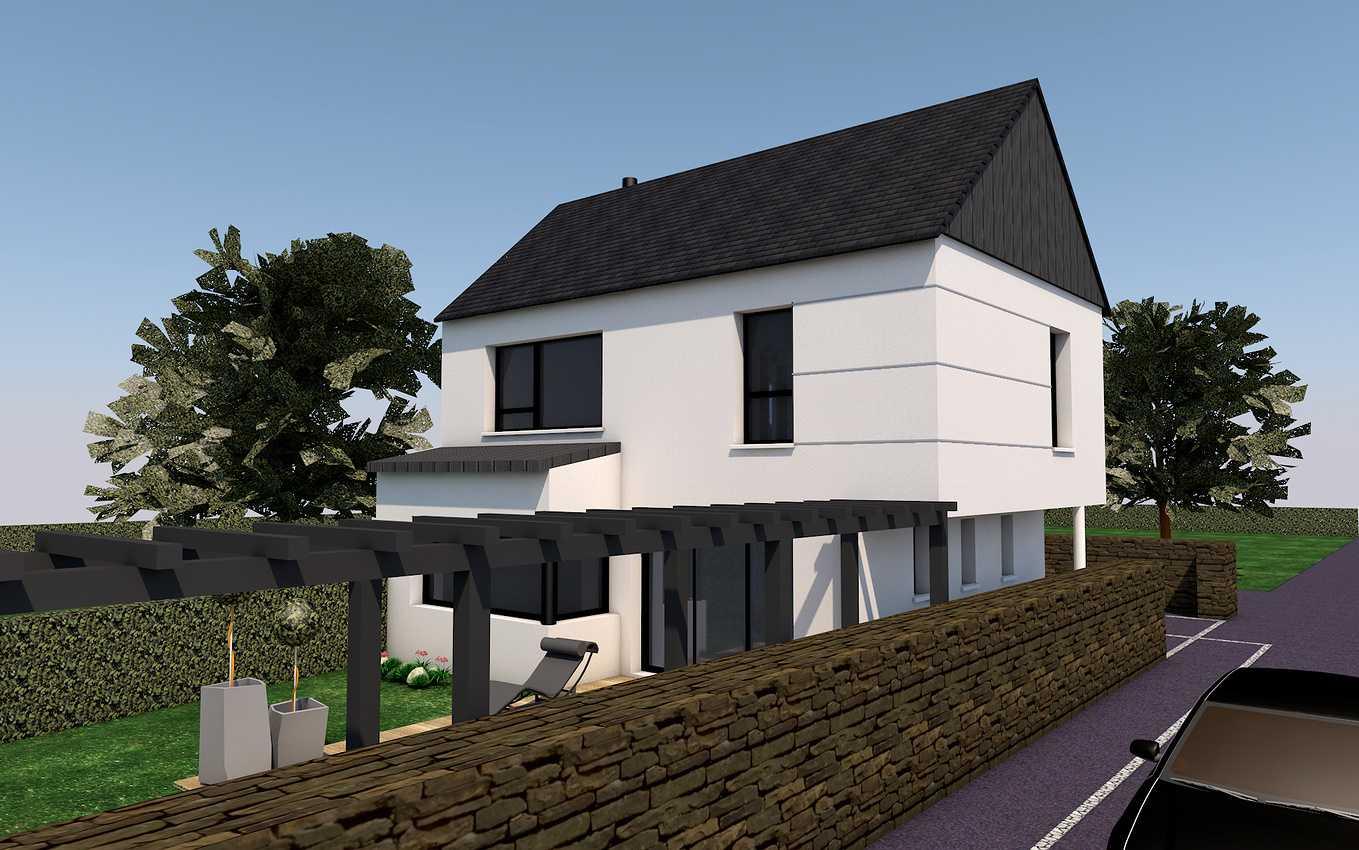 Projet de construction maison 2 niveaux - Pléneuf-Val-André 0
