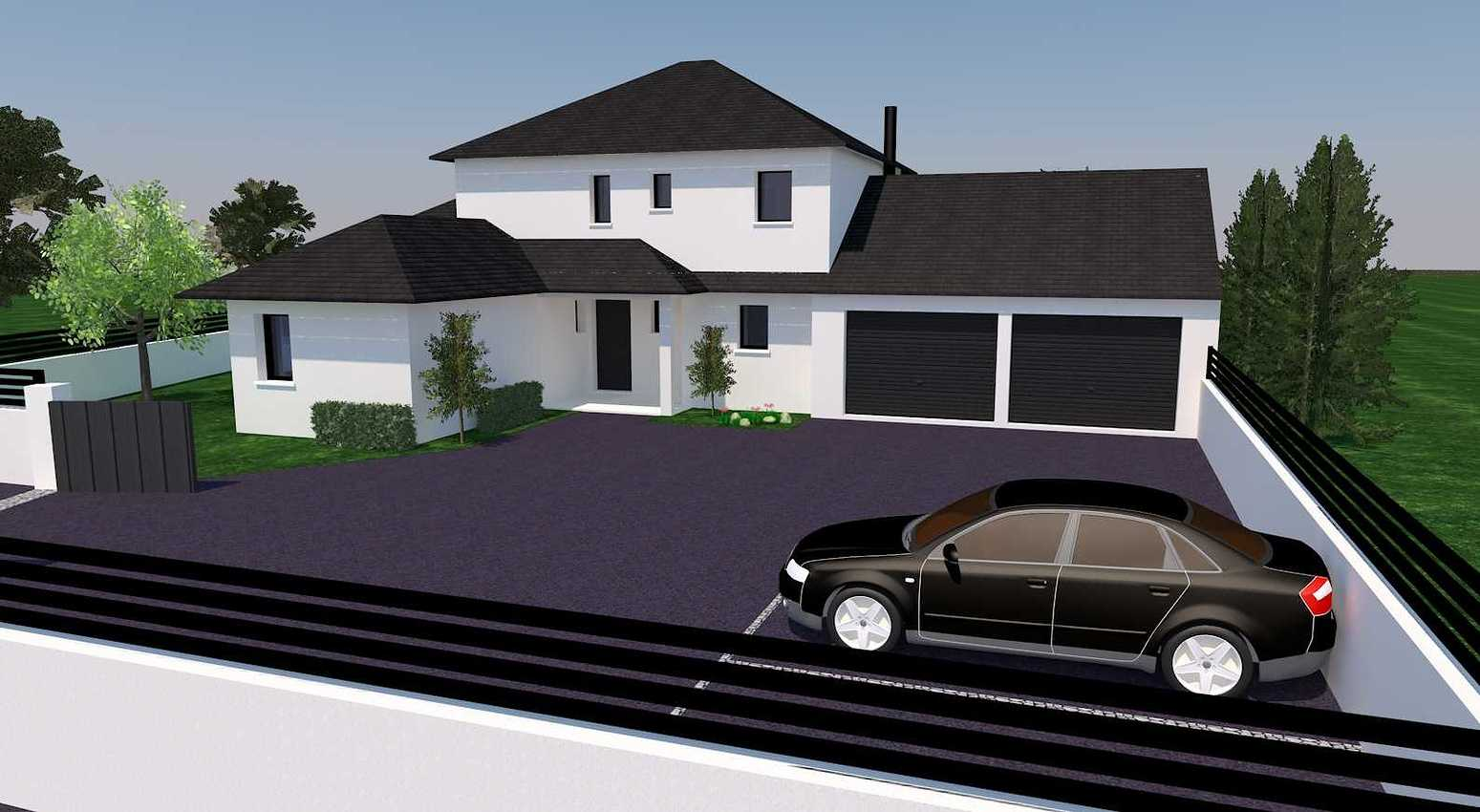 Avant projet d''une habitation de style traditionnel - Coetmieux presentation22