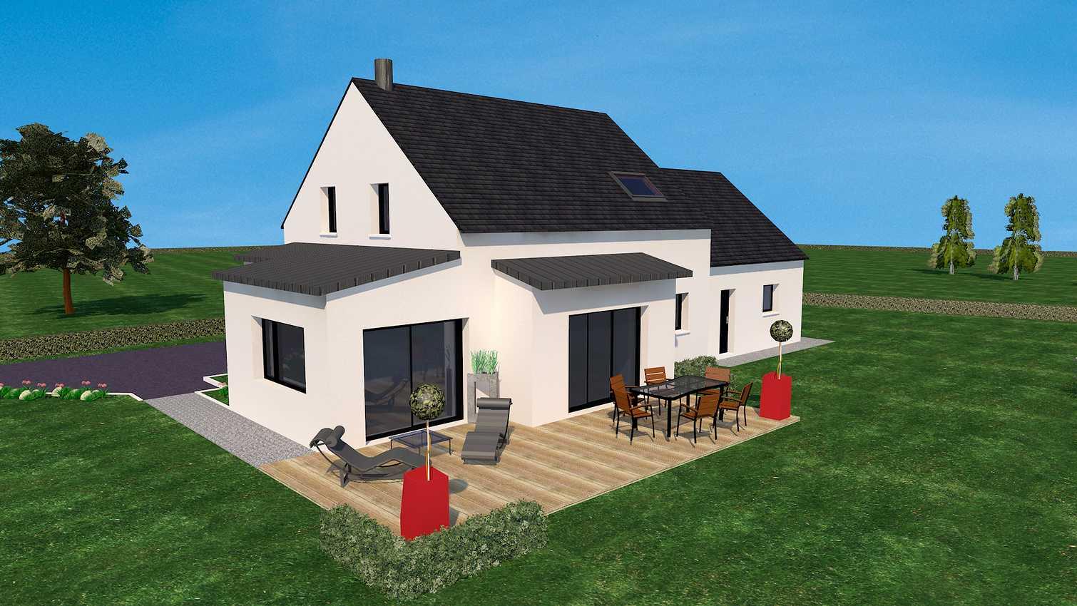 Projet de construction d''une habitation sur Coetmieux 0