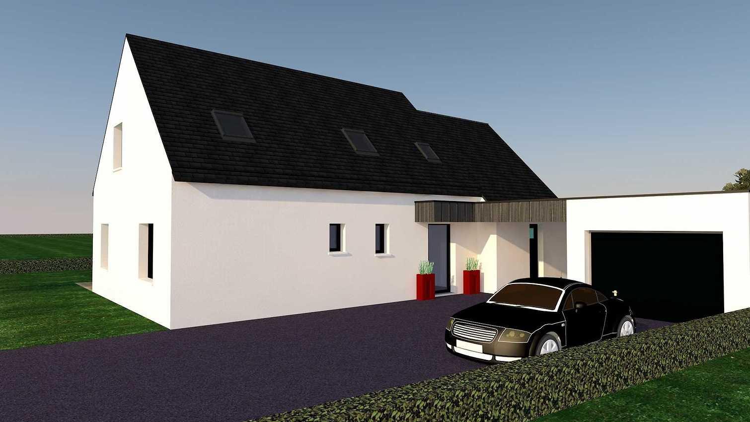 Projet d''extension et Rénovation sur la commune d''Andel aps2vuenord