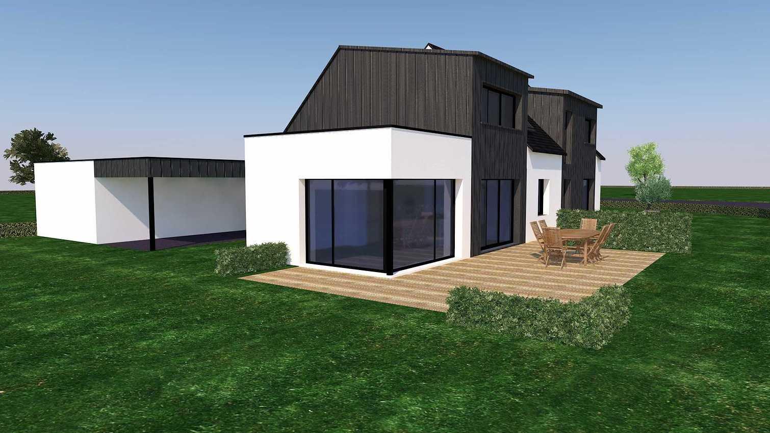 Projet d''extension et Rénovation sur la commune d''Andel aps2vuesud-ouest