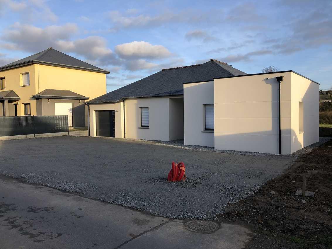 Construction d''une maison individuelle à PLAINTEL img4638