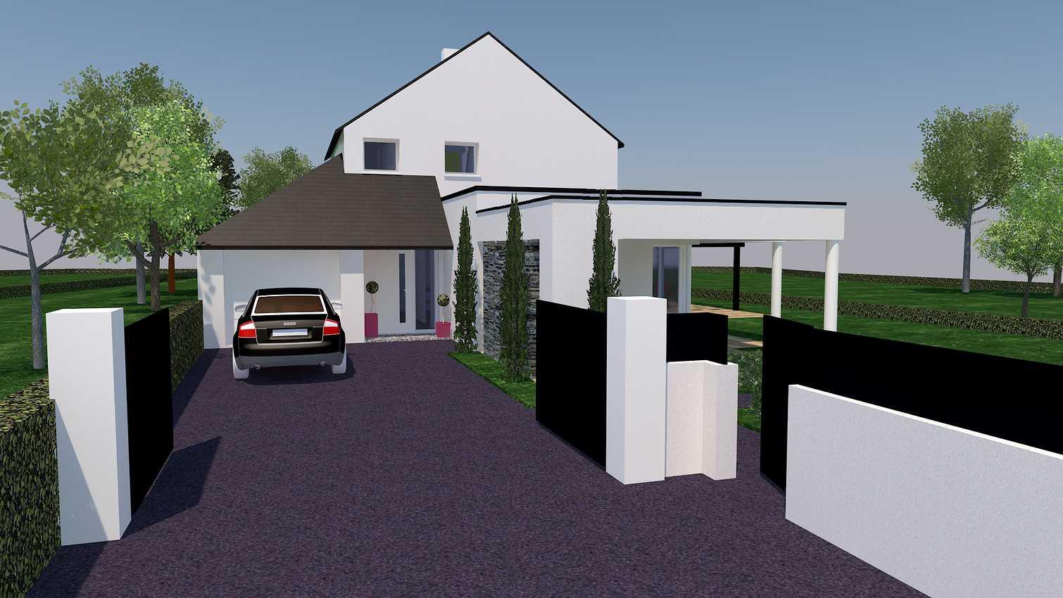 Projet d''extension et Rénovation sur la commune de PLEVENON presentation3