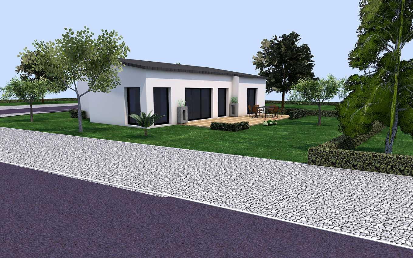 Projet de construction plain pied sur la commune de Plédran plurien2