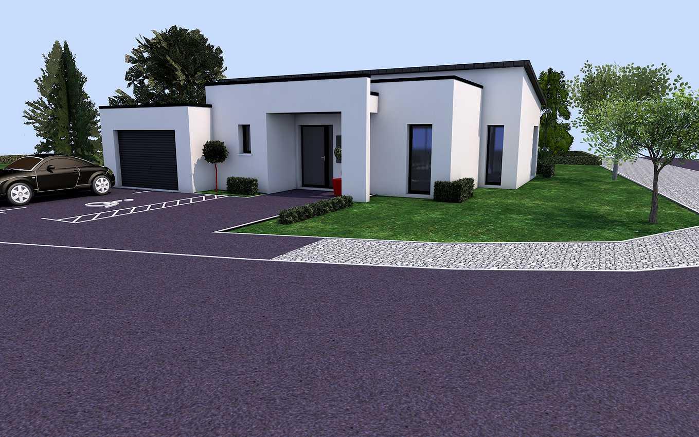 Projet de construction plain pied sur la commune de Plédran 0