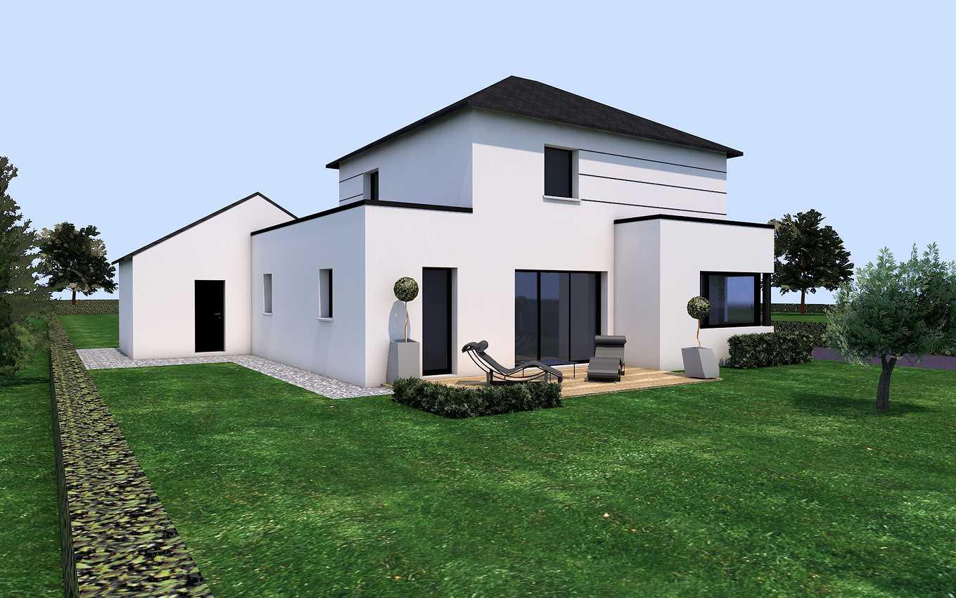 Projet de construction sur la commune de Pluduno 0