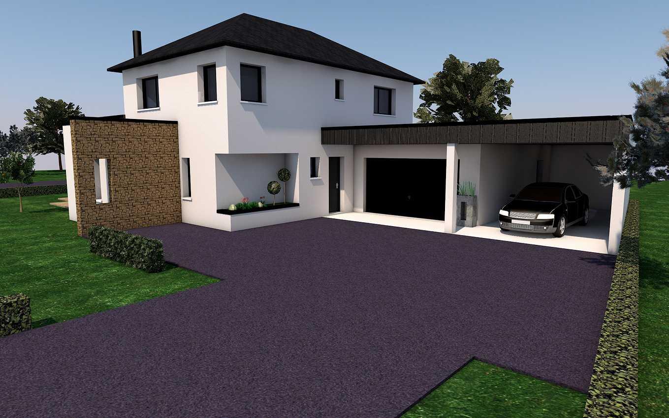 Projet de construction sur la commune de Pommeret presentation1