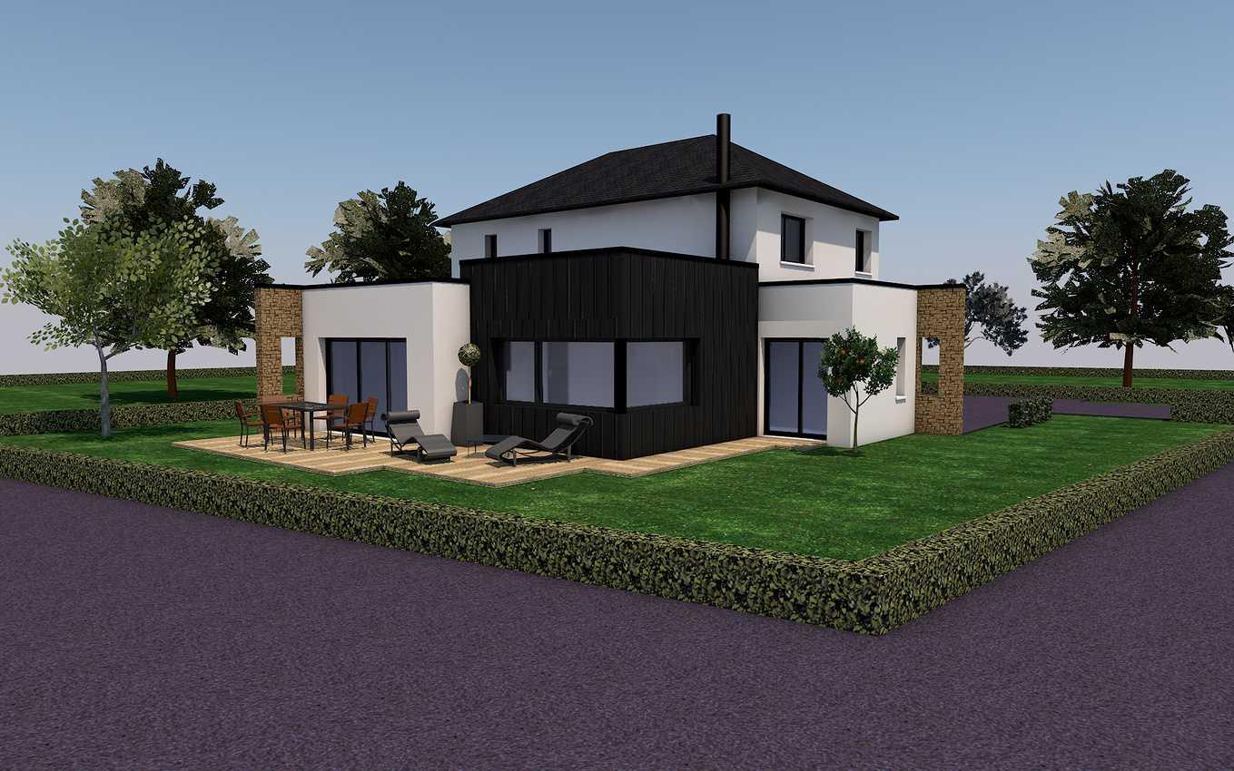 Projet de construction sur la commune de Pommeret 0