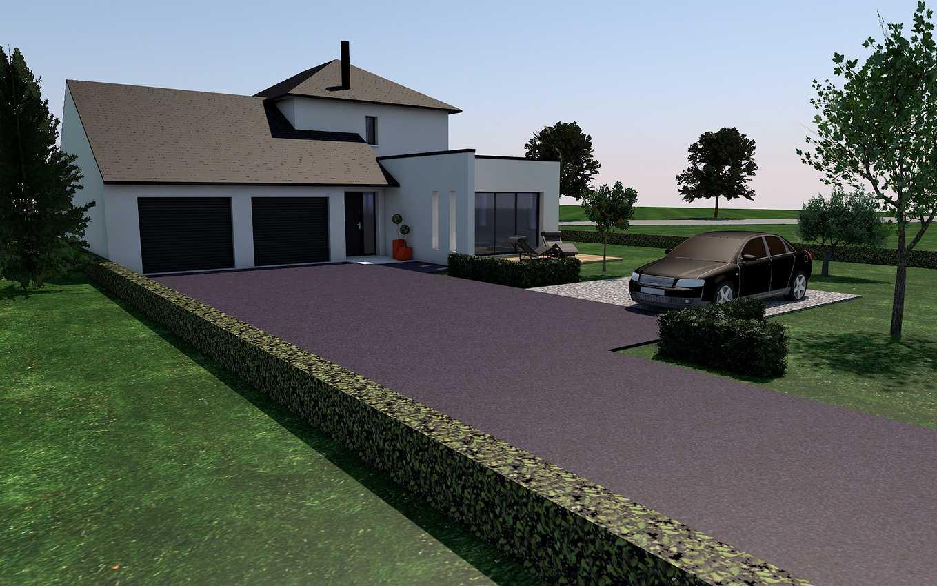 Projet de construction sur la commune de St Trimoël presentation1