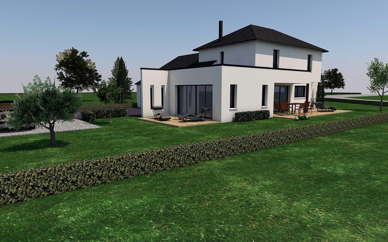 Projet de construction sur la commune de St Trimoël presentation2