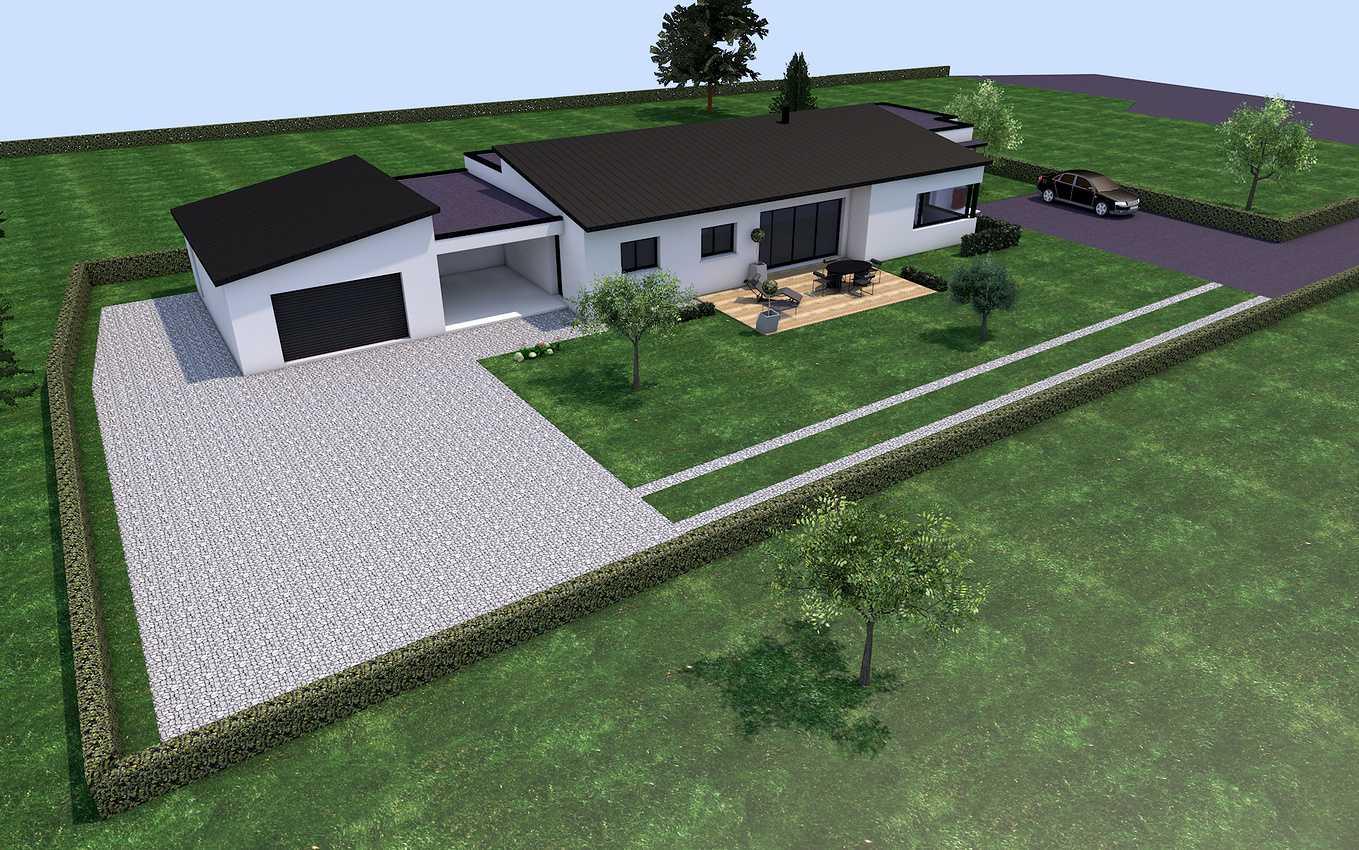 Projet de construction sur la commune de St Alban 22400 presentation2