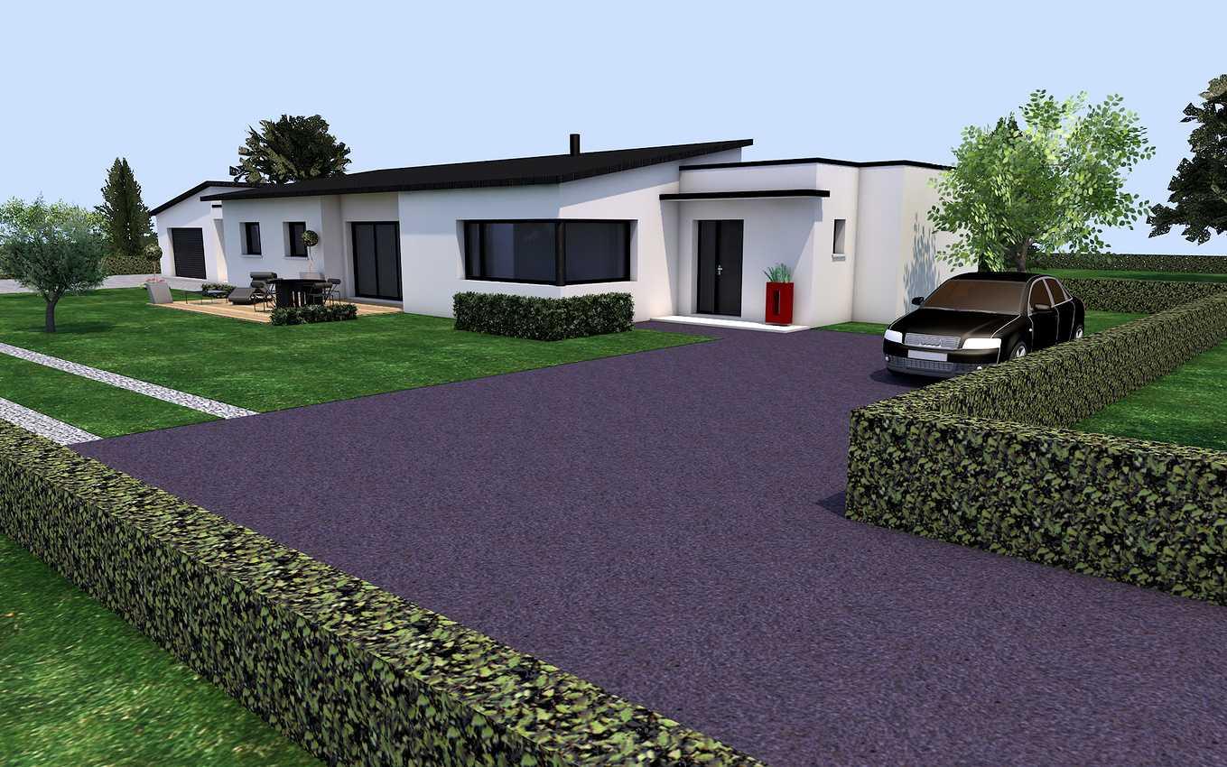 Projet de construction sur la commune de St Alban 22400 0
