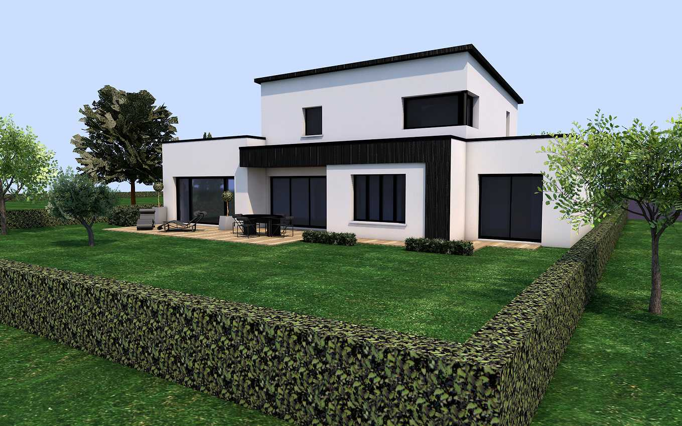 Projet de construction sur la commune de Maroué Lamballe 22 400 presentation22