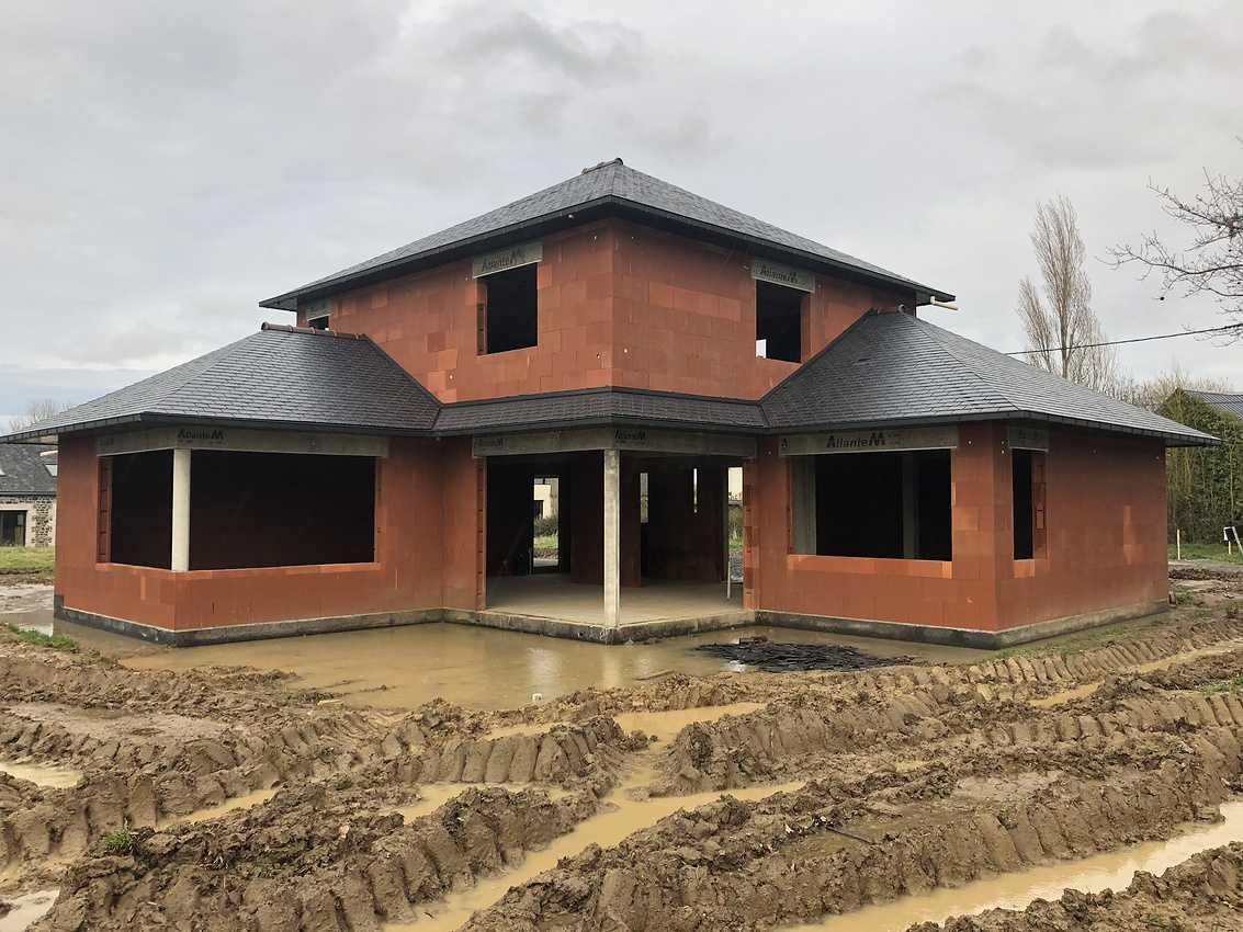 Construction d''une Habitation traditionnelle à Coetmieux img4374