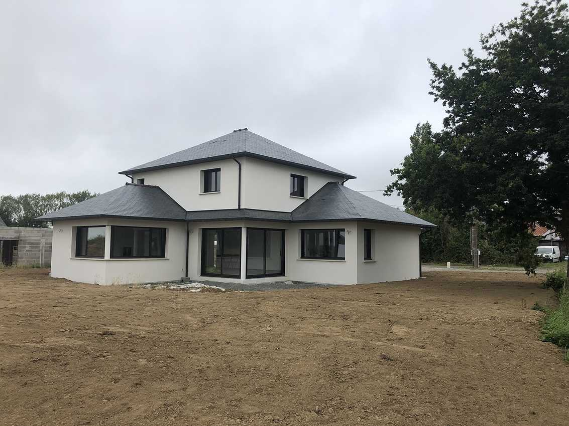 Construction d''une Habitation traditionnelle à Coetmieux 0