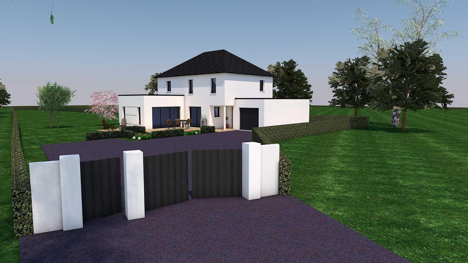 Projet de construction sur la commune de Plaintel presentation1
