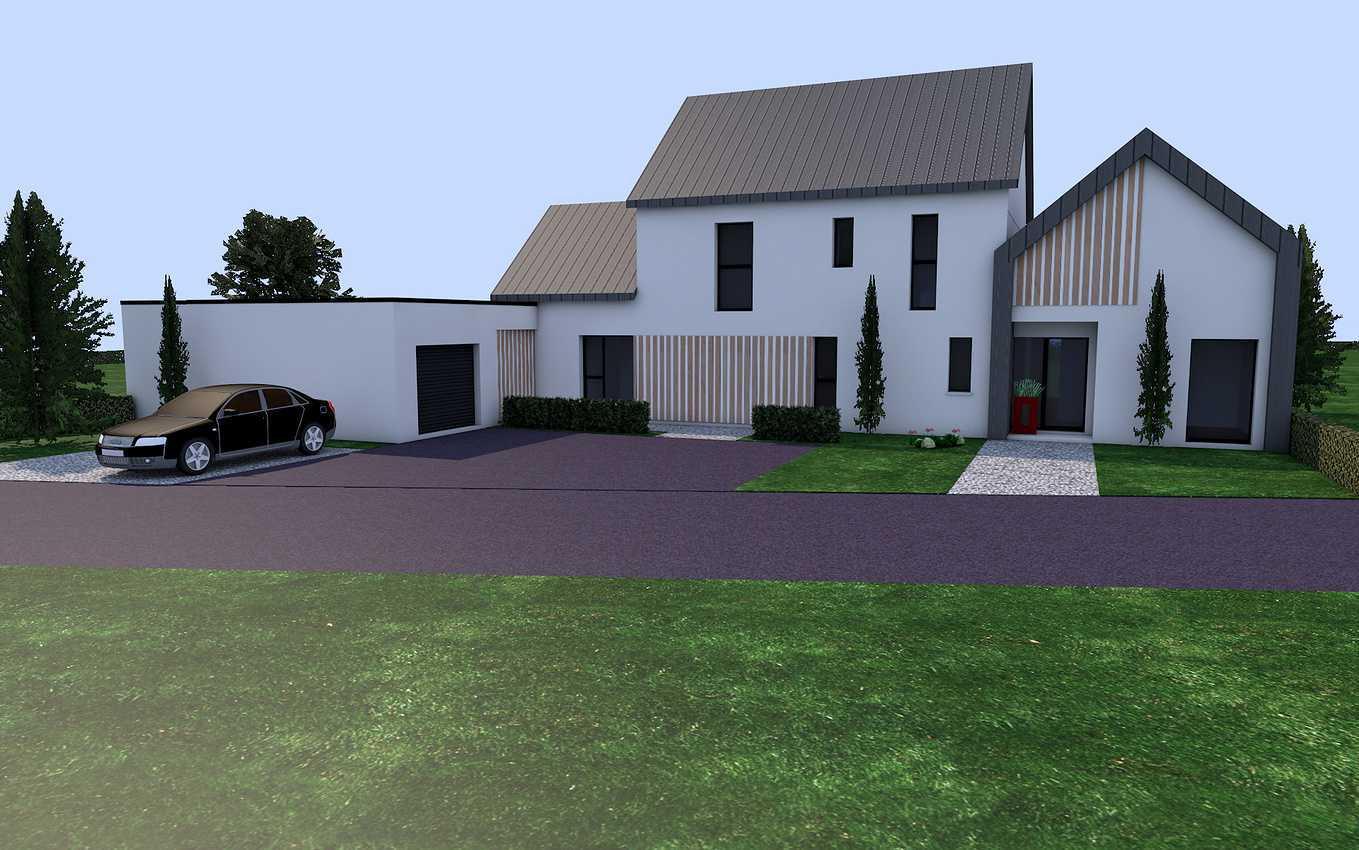Projet de construction sur la commune de LANGUEUX presentation1
