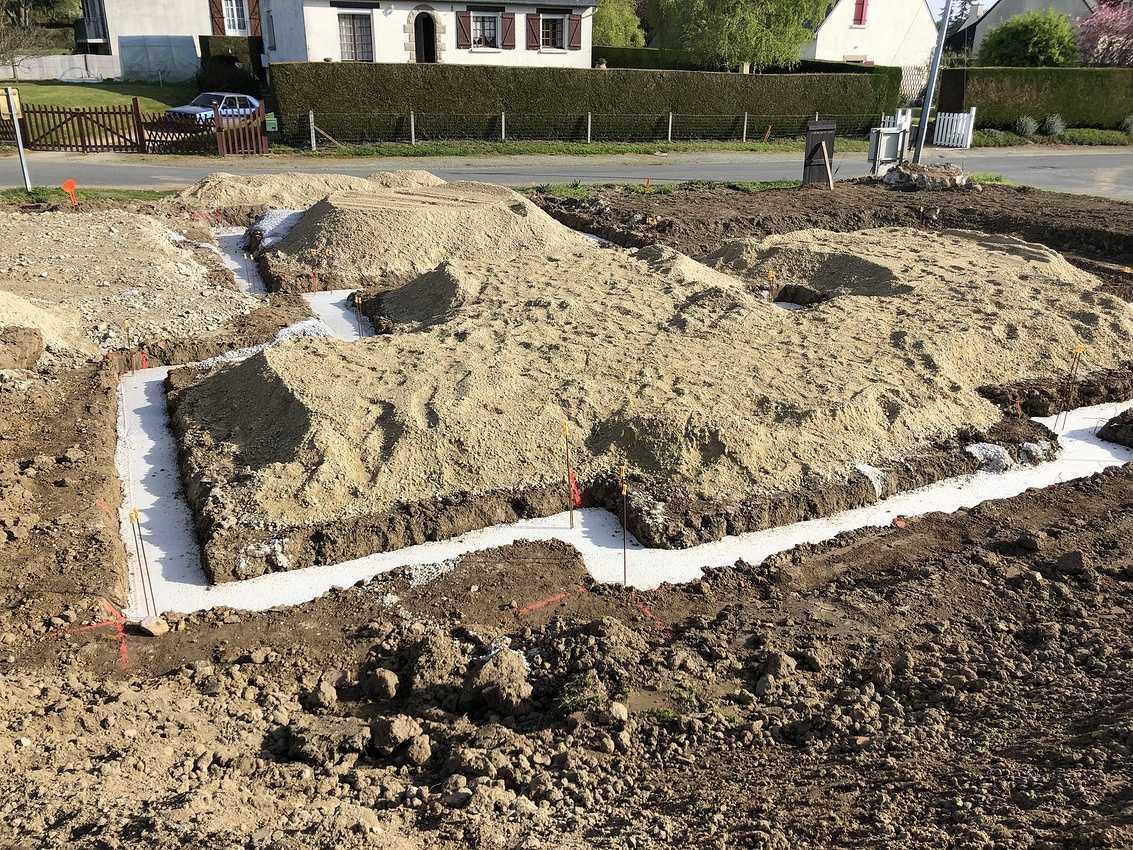 Construction d''une habitation à Pluduno - 22 130 img1566