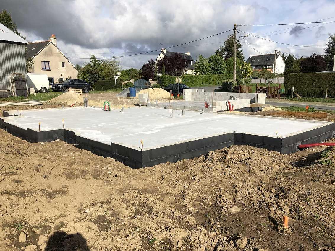 Construction d''une habitation à Pluduno - 22 130 img1695