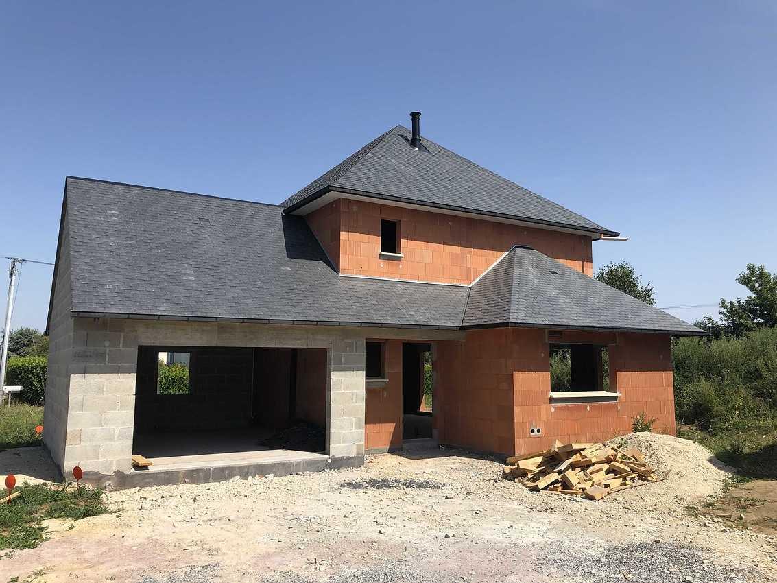 Construction d''une habitation à Pluduno - 22 130 img2717