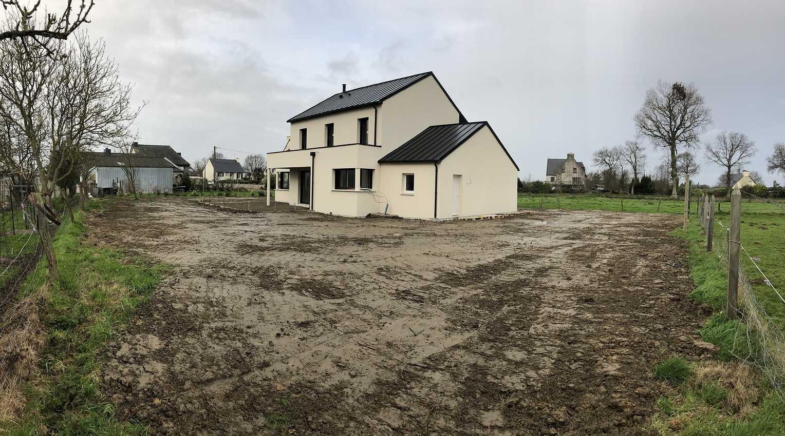 Construction d''une habitation à St Cast Le Guildo - 22 380 0