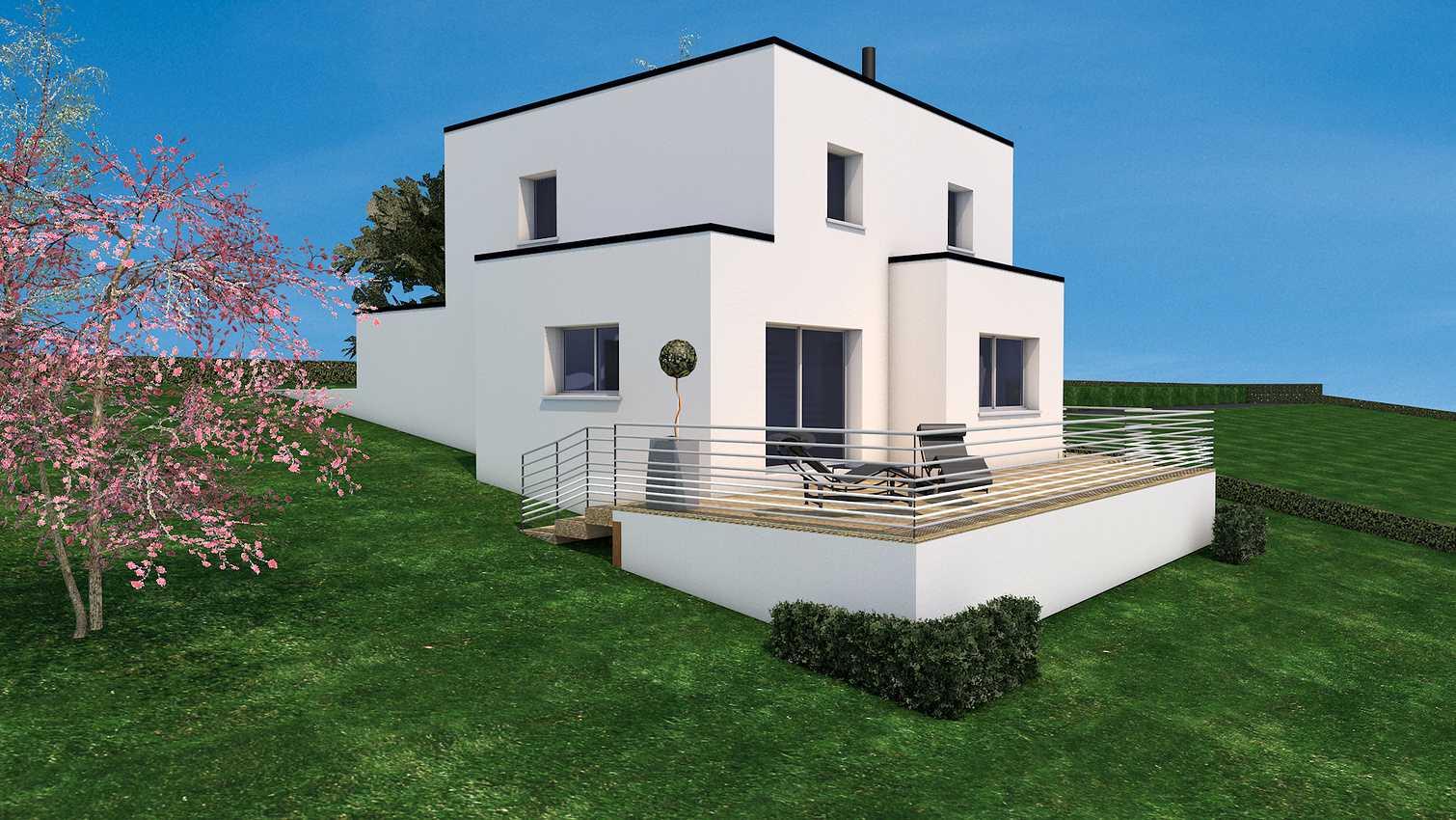 Projet de construction sur la commune de Saint-Carreuc 22150 presentation1